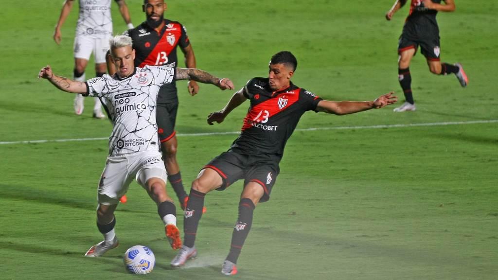 Atletico-Go and Corinthians draw 1-1 in Goiânia