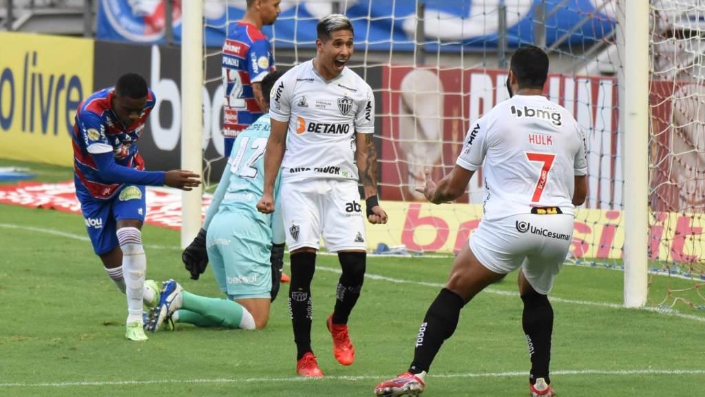 Atletico-MG beat Fortaleza 2-0 at home