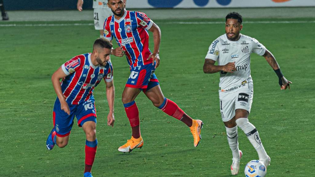 Santos and Bahia draw 0-0 at Villa Belmiro