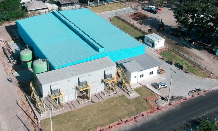 Siderúrgica ES .  Implements seawater desalination systems to reduce freshwater consumption in