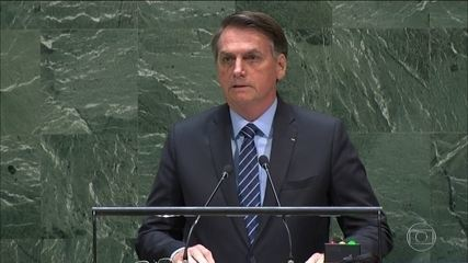 Bolsonaro opens UN General Assembly with offensive speech