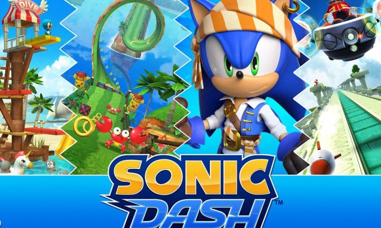 Imagem de: Sonic Dash ultrapassa a marca de 500 milhões de downloads