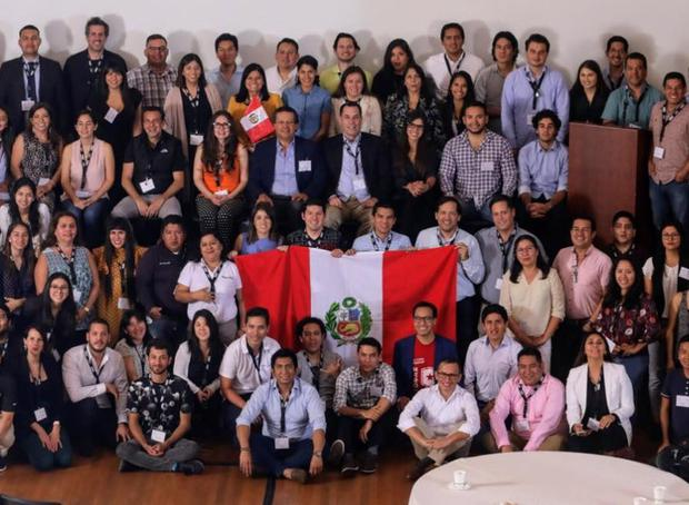 The Peruvian community in the United States meets once a year at Techsuyo.  An edition was held in Lima in 2019.  (Photo: Broadcast)