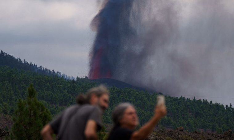 Heaven turns to hell with a volcanic eruption on the Spanish island of La Palma.  Society