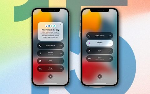 iOS 15!  Know the latest updates on your iPhone