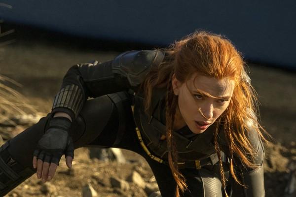 Scarlett Johansson in the Black Widow scene (Photo: Publicity)