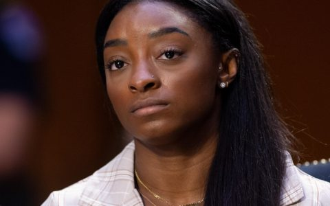 Simone Biles says she shouldn't have gone to the Tokyo Olympics