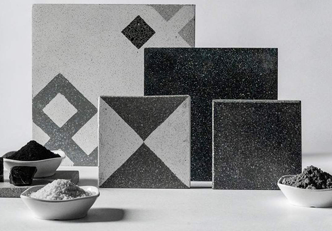Pollution is being turned into elegant tiles in India