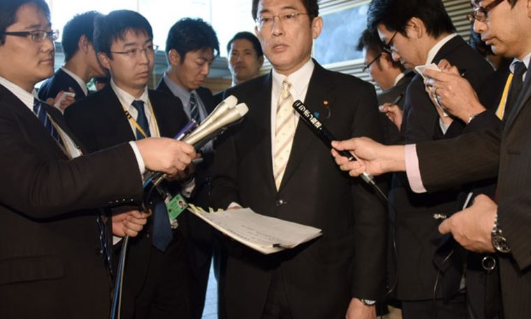 The former foreign minister of Japan will become the Prime Minister of Japan.  World
