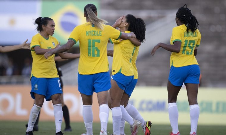 Australia announced two friendly matches against the Brazil women's team in October.  brazilian team