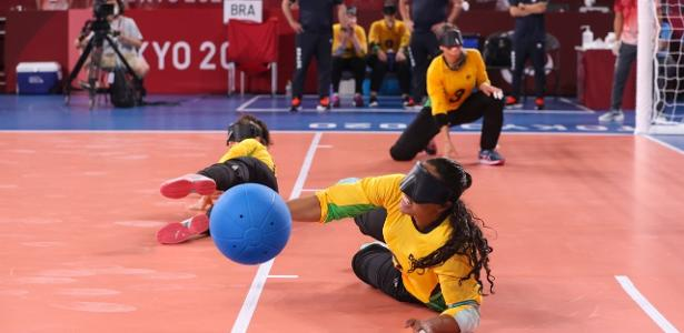 Brazil beat Chinese favorites in overtime and reach semifinals in goalball - 01/09/2021