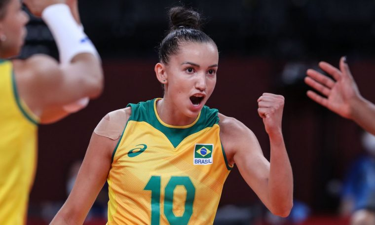 Brazil is the South American champion, but comes in the rankings