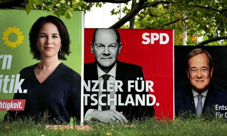 Germans voted on Sunday to elect a new parliament and a successor to Angela Merkel.  World