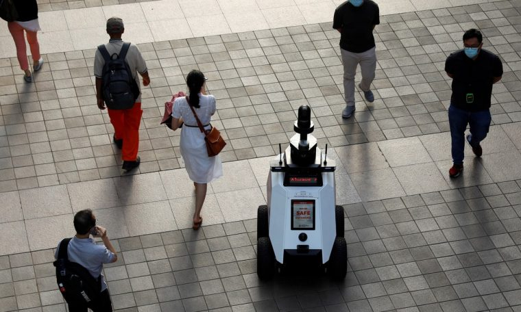 Singapore tests 'Xavier', robot that detects population abuse  World