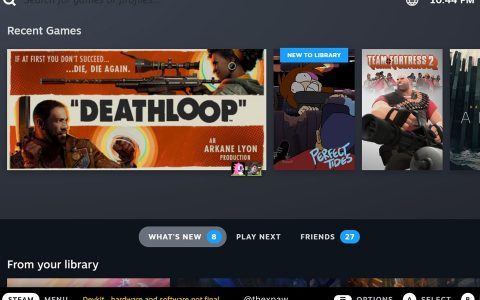 SteamOS 3 Was Leaked On The Internet, Now See Steam Deck UI Look
