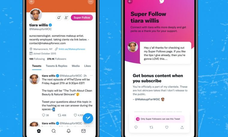 Twitter releases tool for followers to pay for exclusive content  Technology
