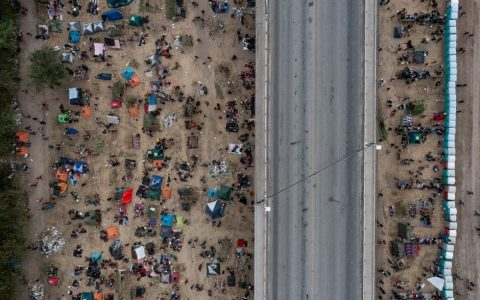 US border camp is closed, and Haitians face an uncertain future