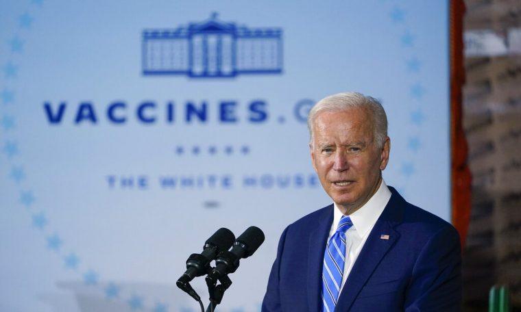 Biden urges US companies to demand Kovid-19 vaccination  World