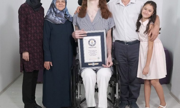 Turk got the title of the world's longest living woman  World