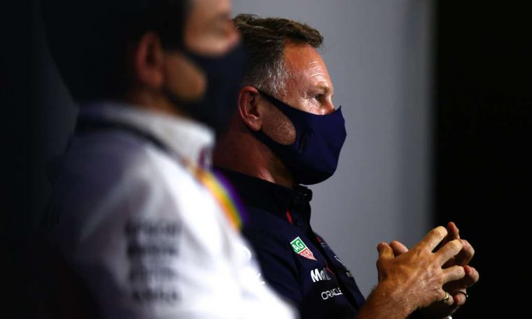 """Red Bull boss says fight with Mercedes is """"as tough as it is on the track"""""""