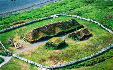 Vikings were in America exactly 1,000 years ago.  Science