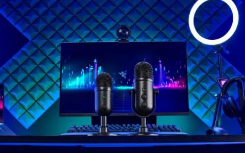 Two new streaming microphones from Razer for podcasts