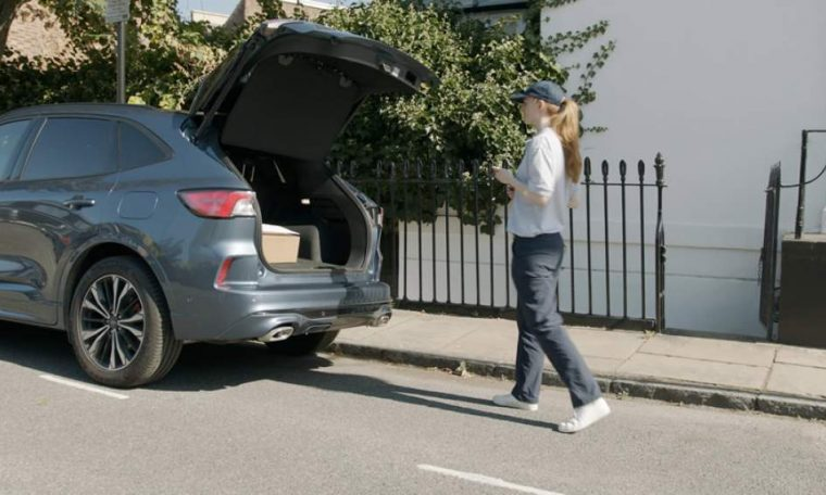 Ford tests in-vehicle parcel delivery system in UK  SEGS
