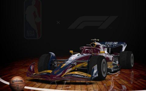 Formula 1 innovates and paints cars based on NBA teams - PHOTOS