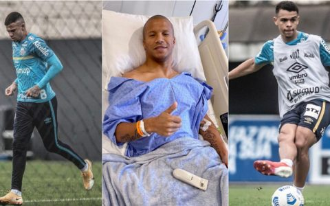 In One Year, Santos Had Eight Athletes With Knee Ligaments Injuries