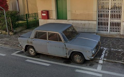 Meet the car that has been parked in the same place in Italy since 1974.  World