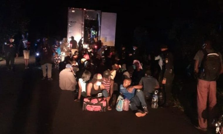 Police rescue 126 migrants in a container in Guatemala  World