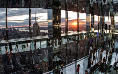 Skyscraper opens 300-meter high sensory observatory in New York;  View Photos |  tourism and travel
