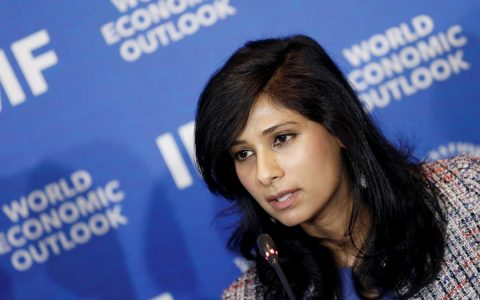 The IMF announced the resignation of Gita Gopinath as chief economist in January.  Economy