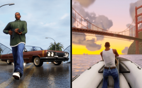 The new GTA: San Andreas reveals the first 4K footage