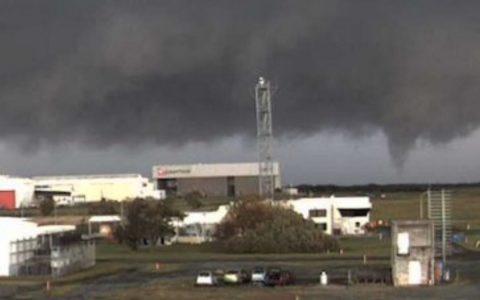 Tornado hits airport in the Australian city of Brisbane