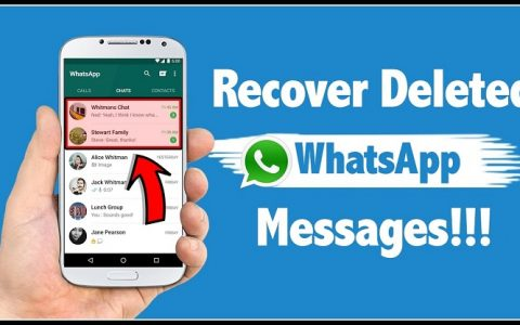 Ways to recover deleted WhatsApp messages